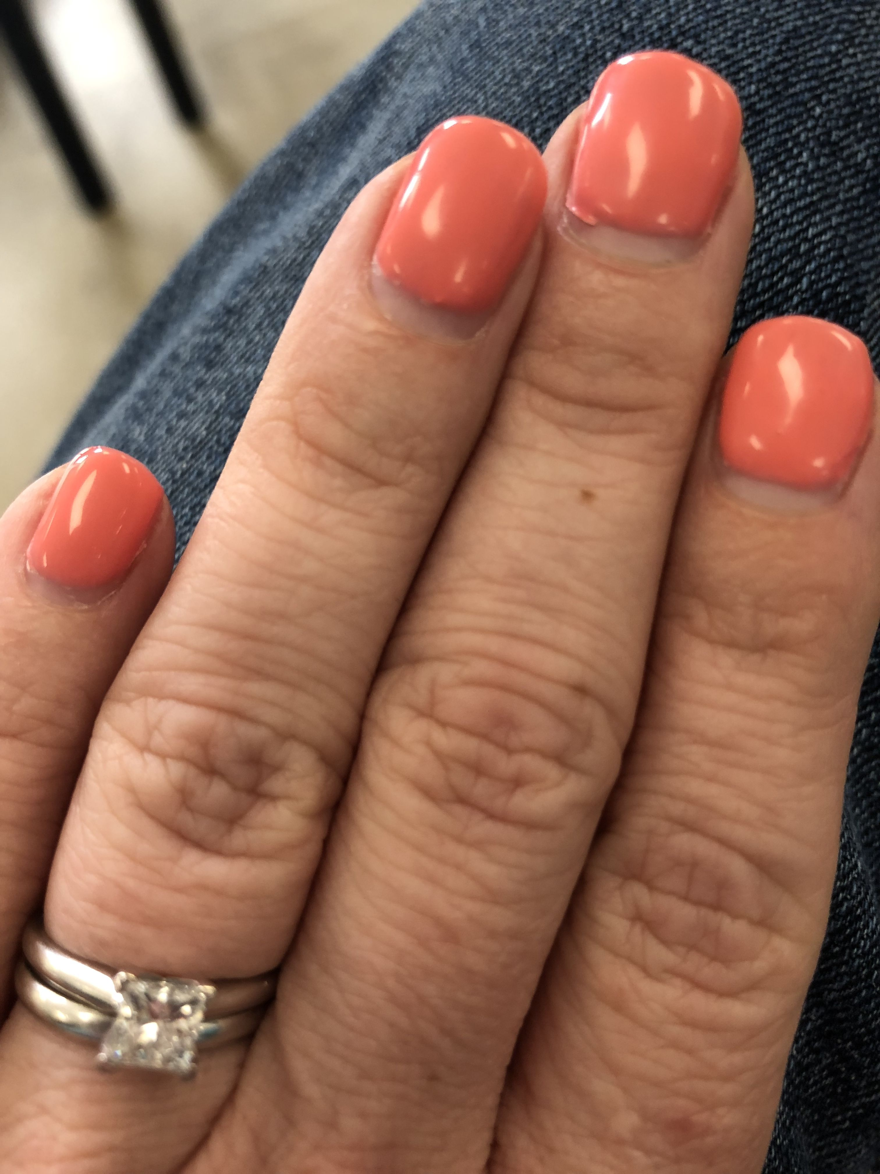 One Week Ago Today I Got A Lovely Manicure I Already Need A New