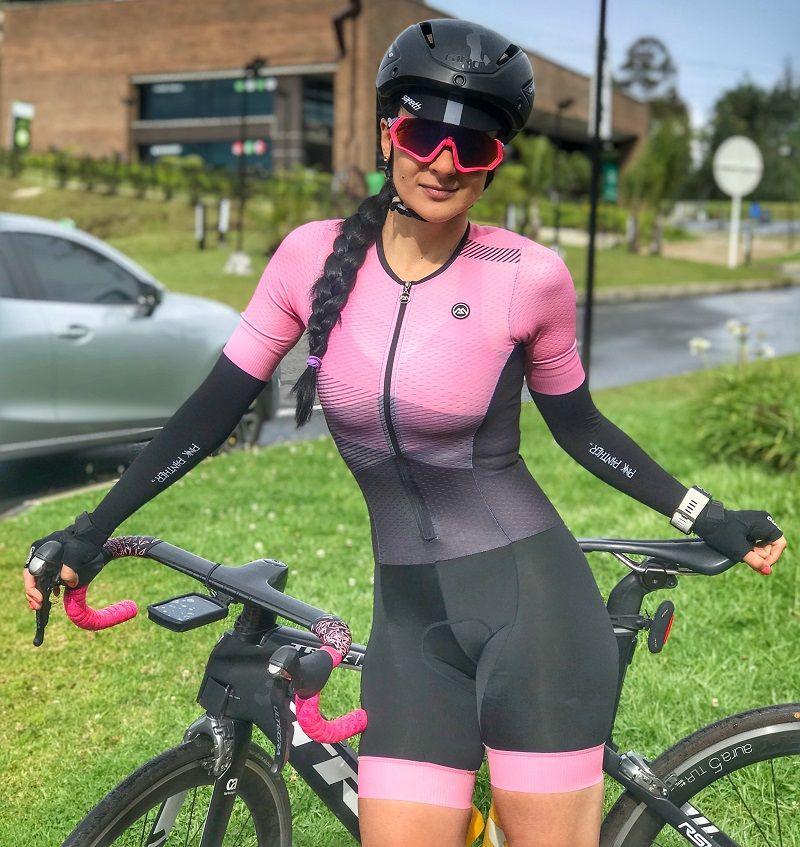 Women S Cycling Skinsuit Chicas Ciclistas Chica En Bicicleta