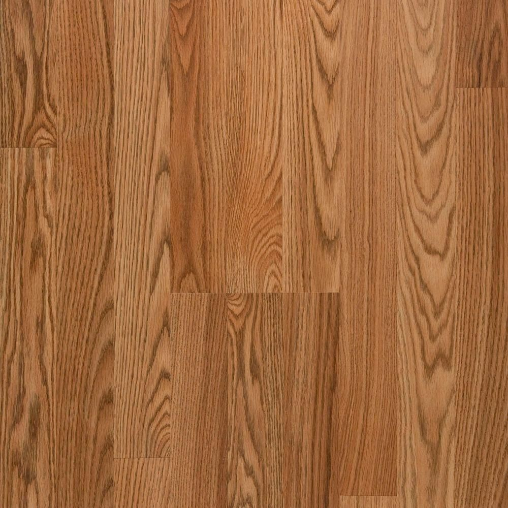 Unbranded Oak 12 Mm Thick X 7 96 In Wide X 54 37 In Length Laminate Flooring 15 04 Sq Ft Case 367871 00237 The Home Depot Laminate Flooring Oak Laminate Oak Laminate Flooring