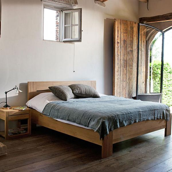Simple Bedroom Furniture: Simple Wood Furniture From Ethnicraft In Belgium