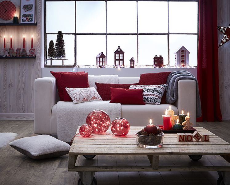 Id es d co noel 2014 - Idee deco salon scandinave ...