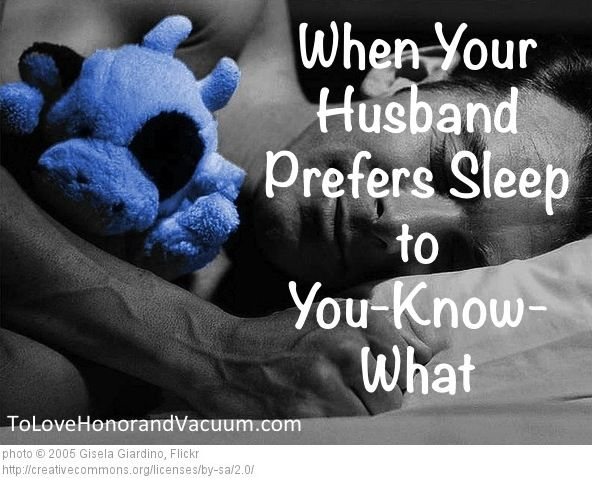 Husbands who do not like sex