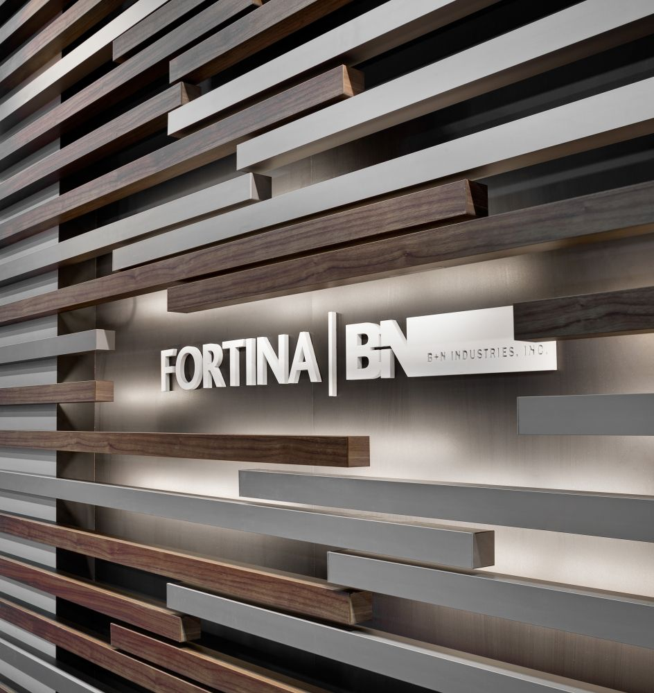 Fortina Louvers with LED lighting can be used to highlight ...