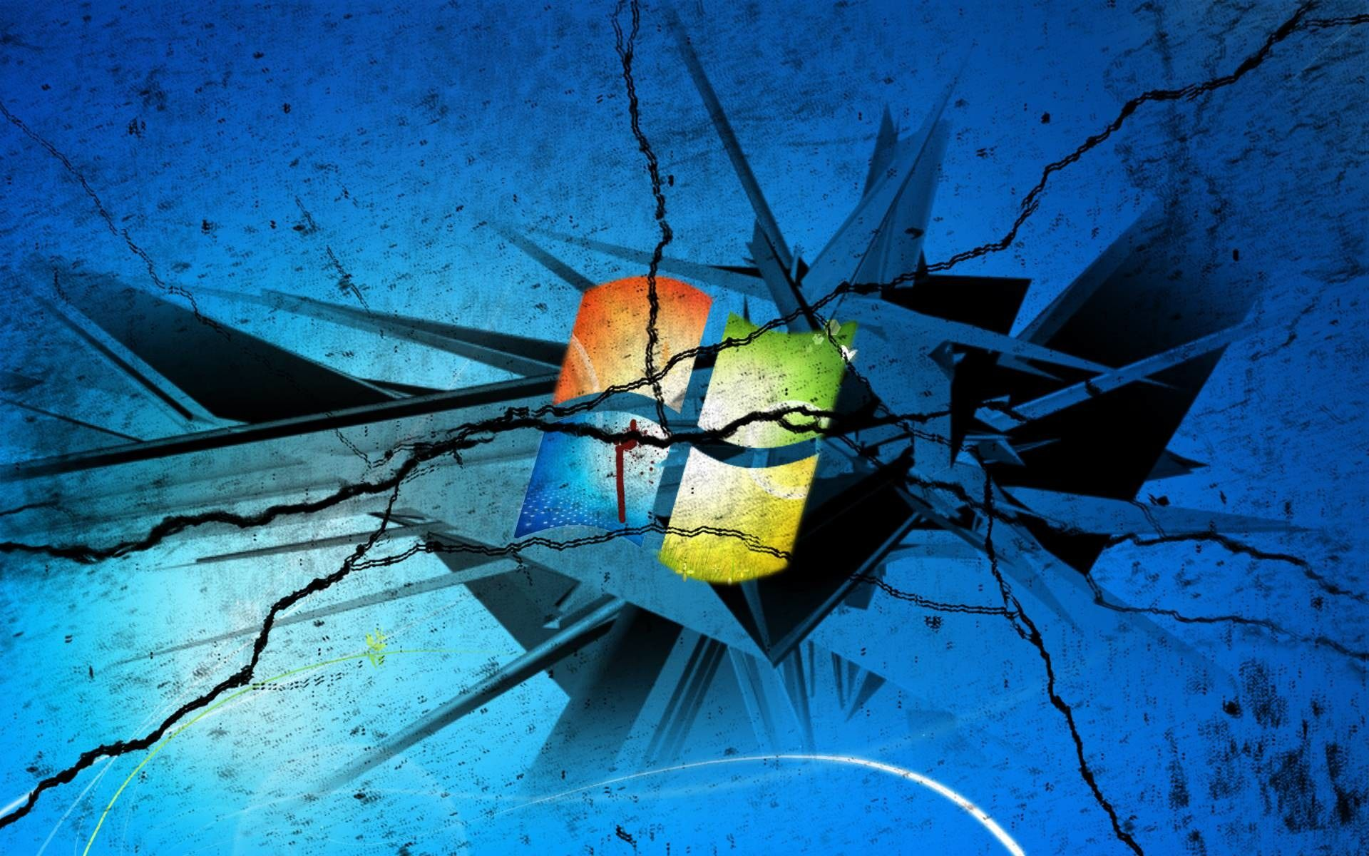 Windows 10 Wallpaper Broken Mywallpapers Site In 2020 Computer Screen Wallpaper Broken Screen Wallpaper Screen Wallpaper