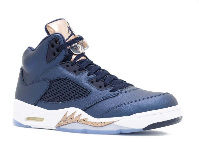 Mens Nike Air Jordan 5 V Retro Bronze Shoe Loved Around