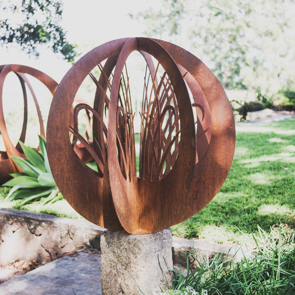 Our range of planters Metal sculptures garden, Landscape