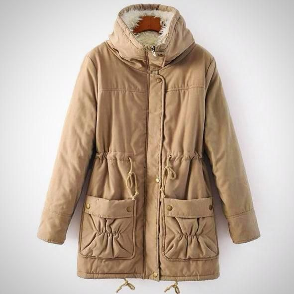 Cromoncent Girls Hoodie Fashion Overcoat Loose Cute Warm Parkas Coat