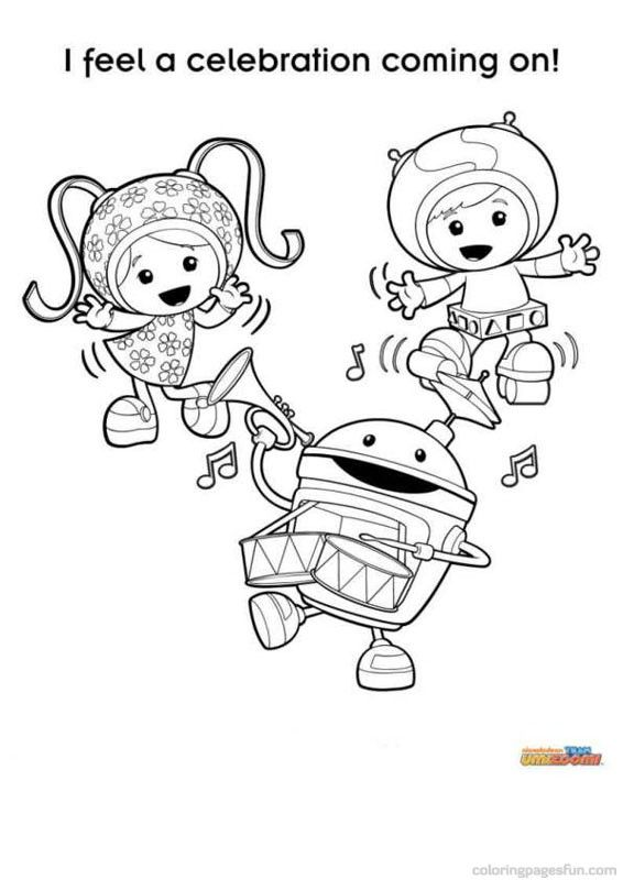 craaazy shake team umizoomi coloring pages 5 free printable coloring pages coloringpagesfun - Umizoomi Coloring Pages Printable