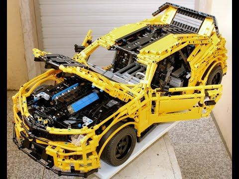 Moc Lego Technic Chevrolet Camaro 2015 Youtube Lego Pinterest