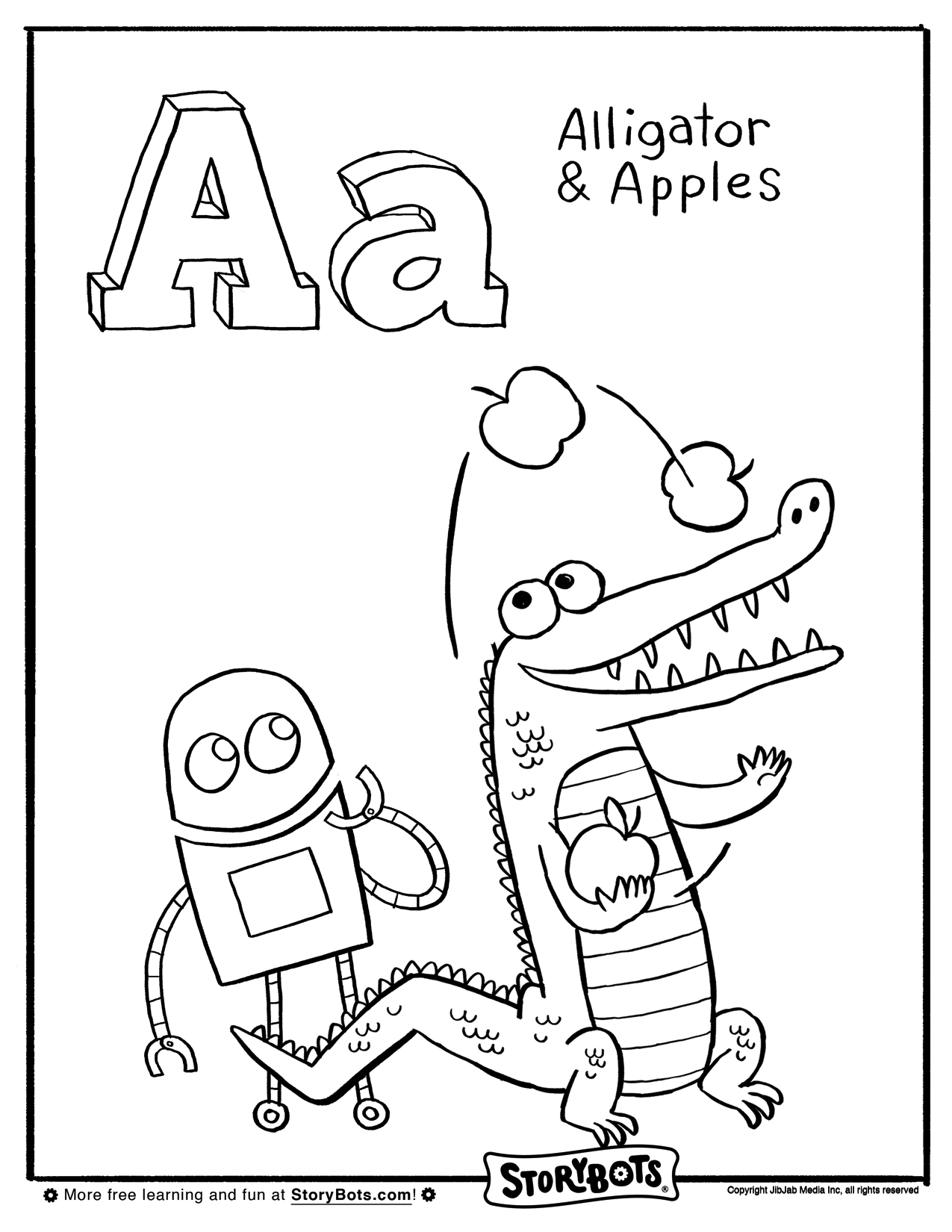 A is an AMAZING letter! ADD some color to make the A words ...