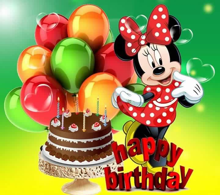 Pin By Yancey Anderson On Birthday Wishes Happy Birthday Balloons Happy Birthday Disney Facebook Birthday Wishes