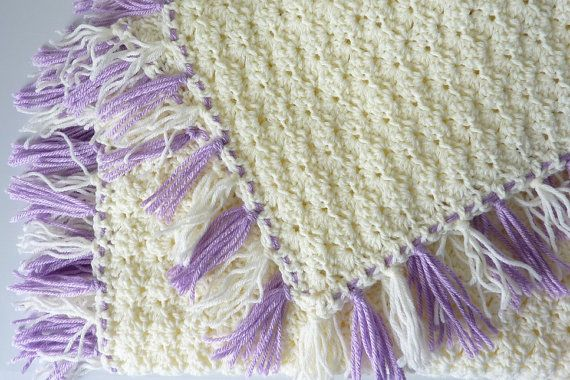 34 x 34 had Crochet Baby Afghan by ConniesCapers on Etsy, $38.00 plus shipping