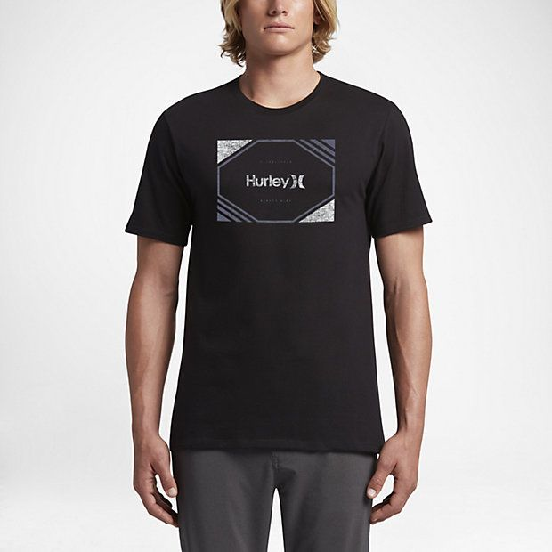 Hurley Chopped Men's T-Shirts Black