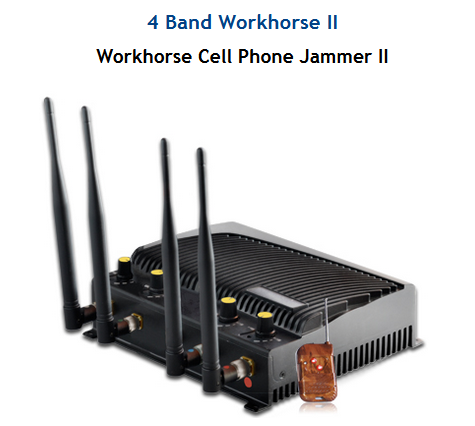 Cell phone jammer with remote - cell phone signal jammer devices