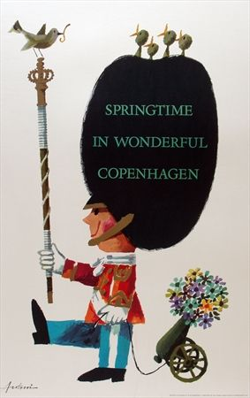 Springtime in wonderful Copenhagen - 1963 -