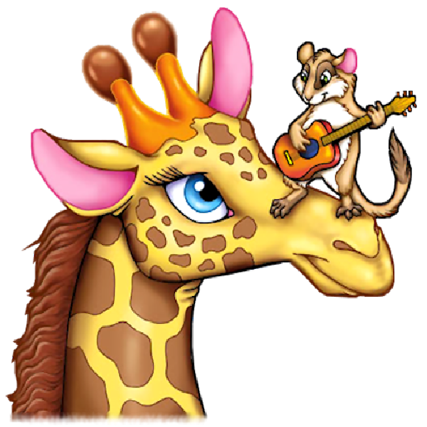 Funny Cartoon Clip Art | Funny Giraffe Cartoon Animal Clip Art ...