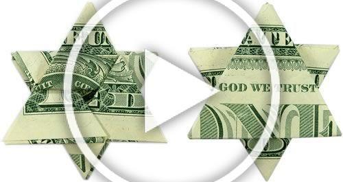 Photo of Falten Sie einen Geldorigami-Stern aus einem Dollarschein – Schritt für Schritt Anleitung