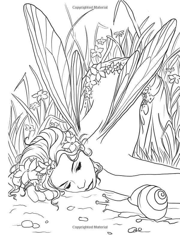 Gothic - Dark Fantasy Coloring Book (Fantasy Art Coloring by ...