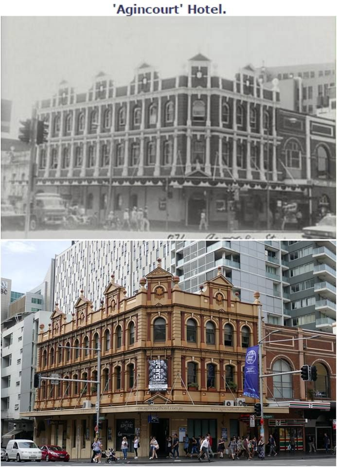 The Agincourt Hotel Cnr Of Harris George Sts Ultimo 1979 2016