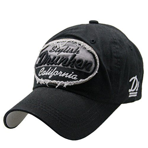 b350cd12bb581 Distressed Vintage Cotton Baseball Cap Patch Fitted Hats Drunken  Embroidered Snapback Trucker Hat Forwardor http