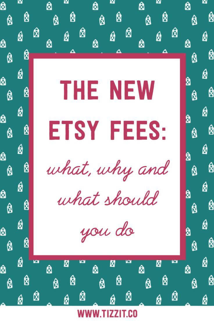 The new Etsy fees what, why and what should you do. etsy
