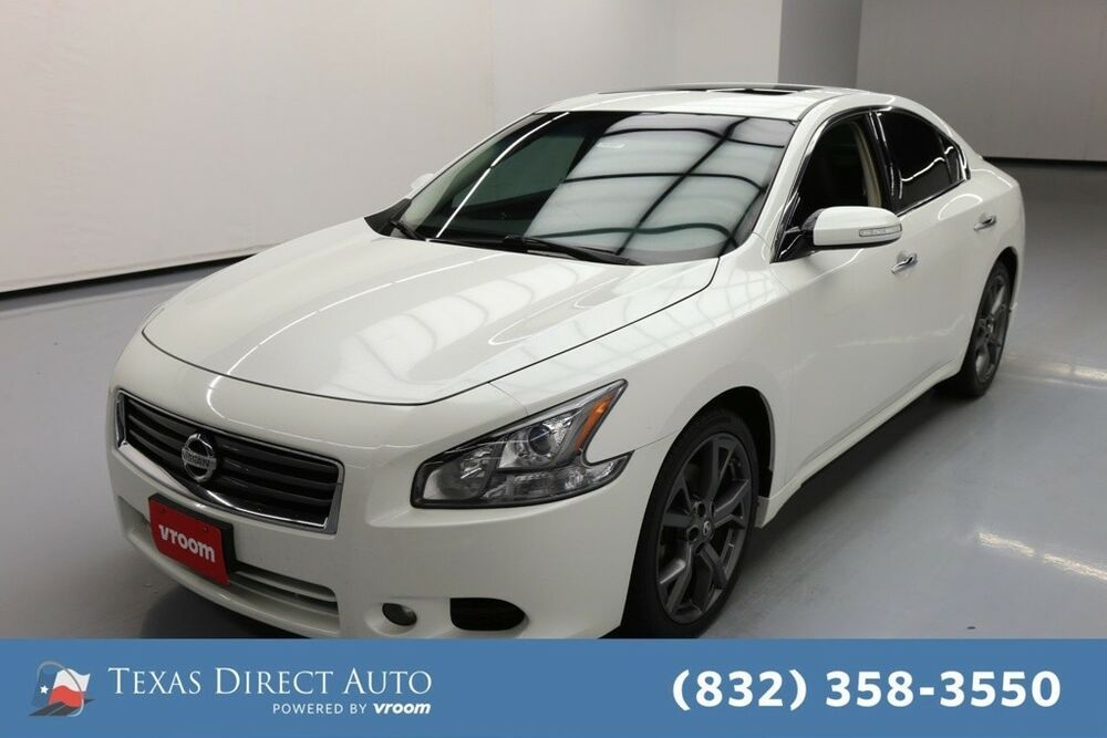 For Sale 2014 Nissan Maxima 3 5 Sv Texas Direct Auto 2014 3 5 Sv Used 3 5l V6 24v Automatic Fwd Sedan Premium Nissan Maxima Fwd Sedan
