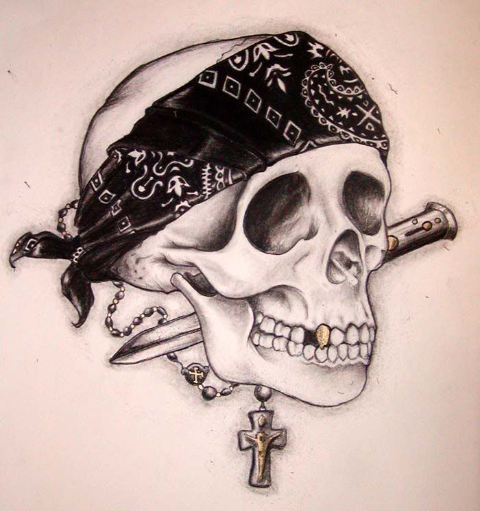 Image of: Cartoon Gangsta Tattoo Drawings Drawings Gangster Skulls Pictures Dreamstimecom Gangsta Tattoo Drawings Drawings Gangster Skulls Pictures