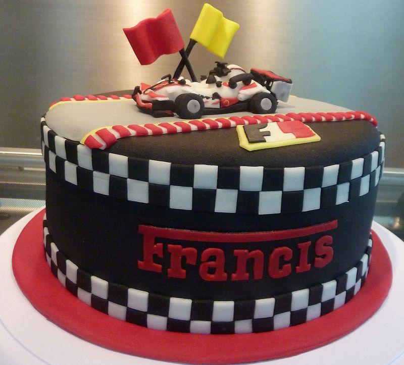 Brilliant Formula 1 Cake Pastel De Carros Tortas De Autos Pastel De Carreras Funny Birthday Cards Online Aboleapandamsfinfo