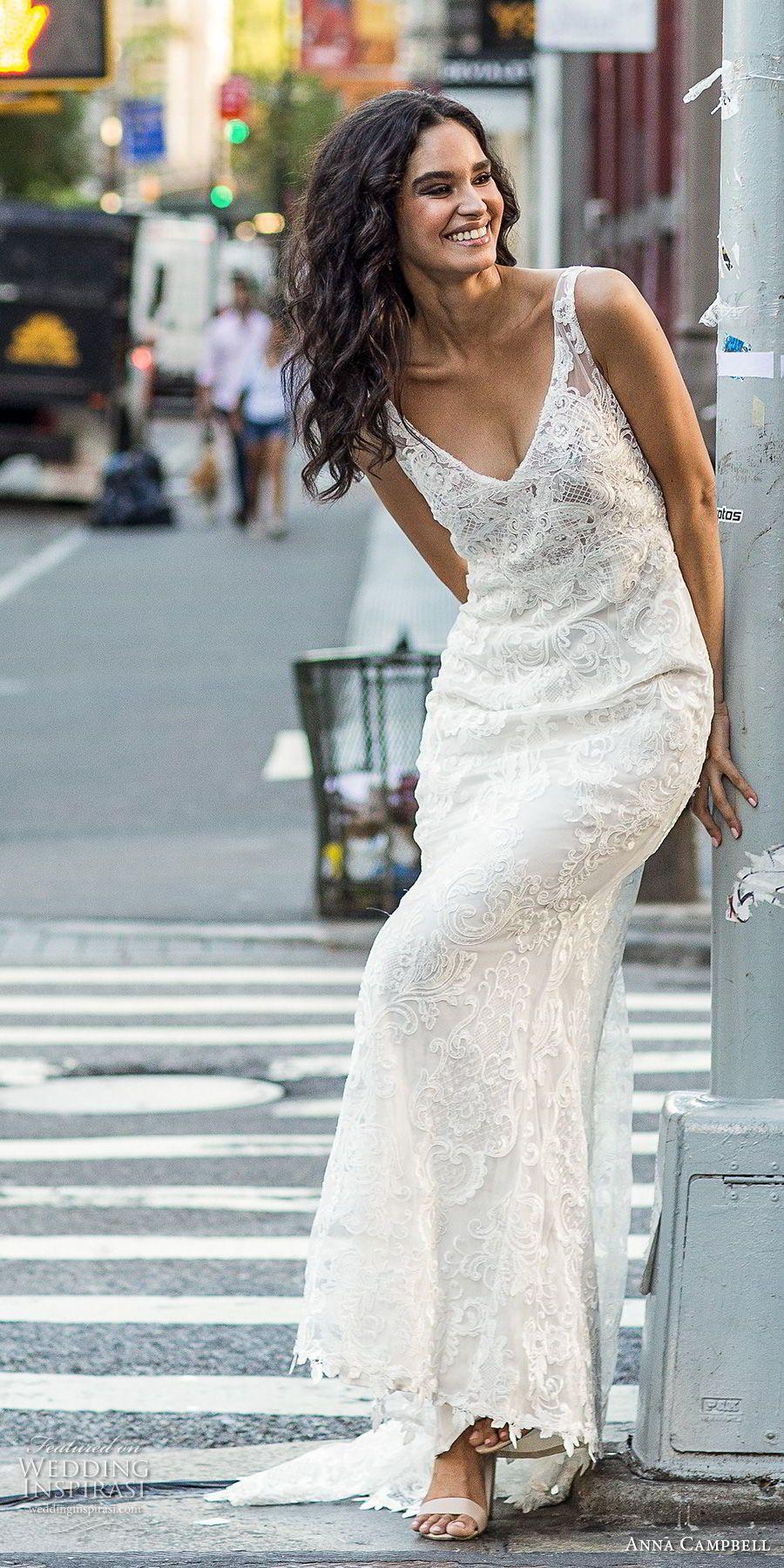 Anna Campbell Fall 2018 Wedding Dresses | Boda civil, Casamiento y ...
