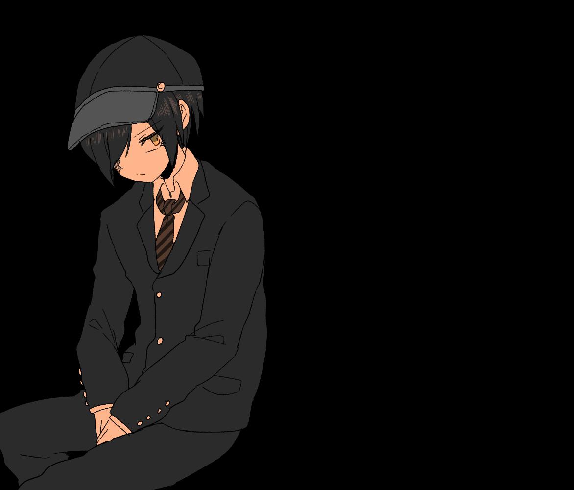 Pregame Shuichi Saihara | Danganronpa | Danganronpa characters