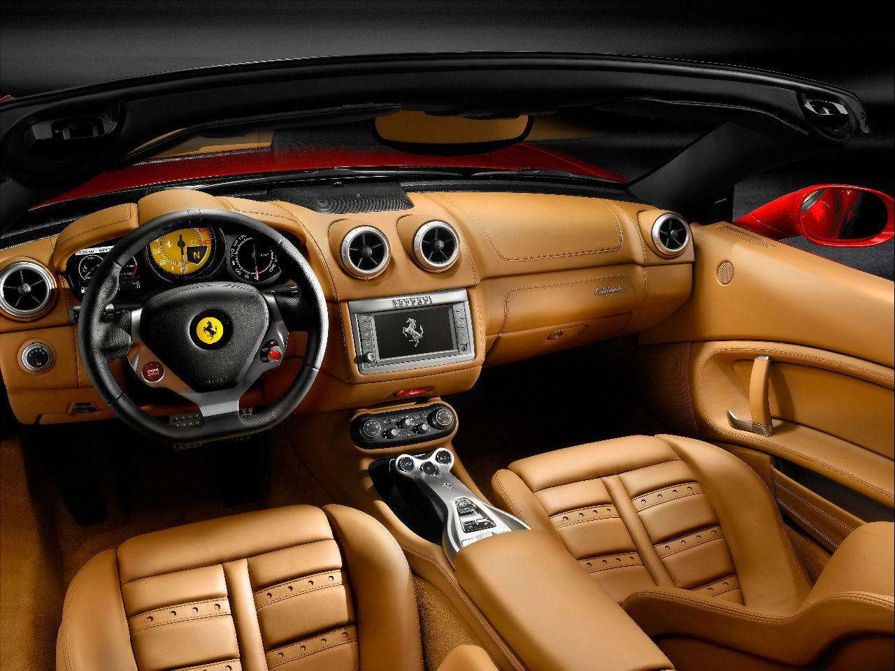 car interior   Ferrari california, Ferrari car, Ferrari ...