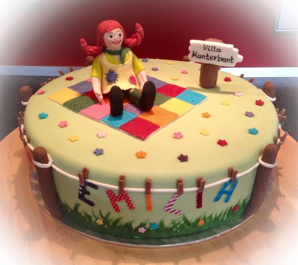 Pippi Langstrumpf Torte Pippi Longstocking Cake Pippi Langstrumpf Party Pippi Langstrumpf Kuchen Kindergeburtstag