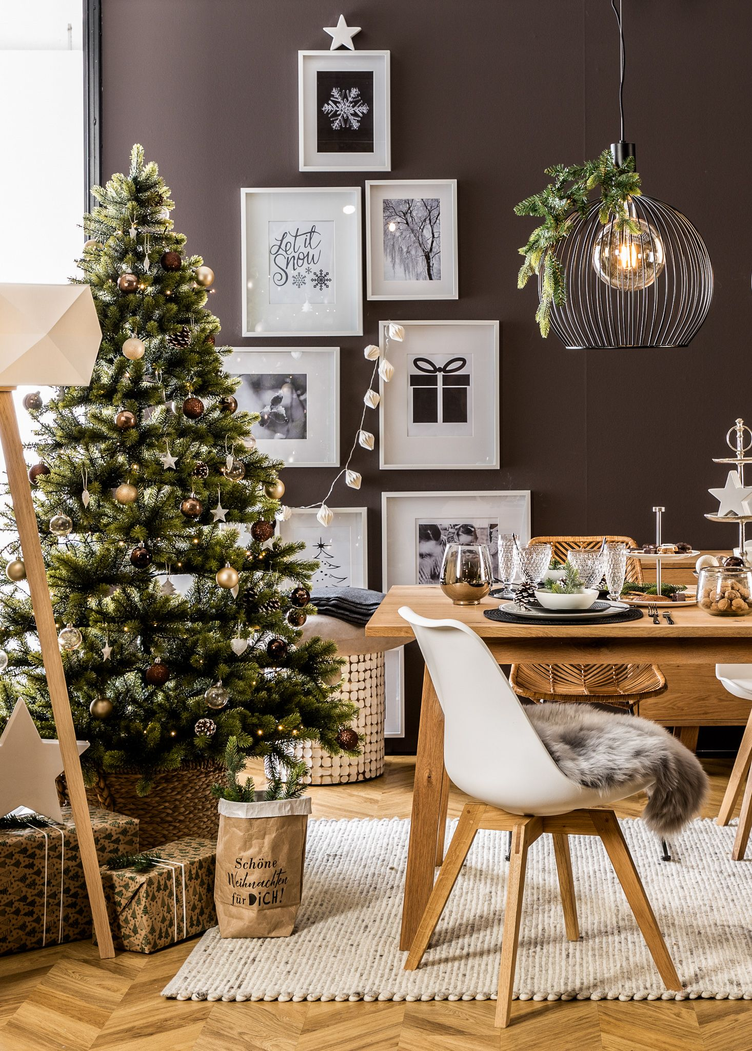 Scandi Christmas – Weihnachten im skandinavischen Stil #weihnachtlicheszuhause