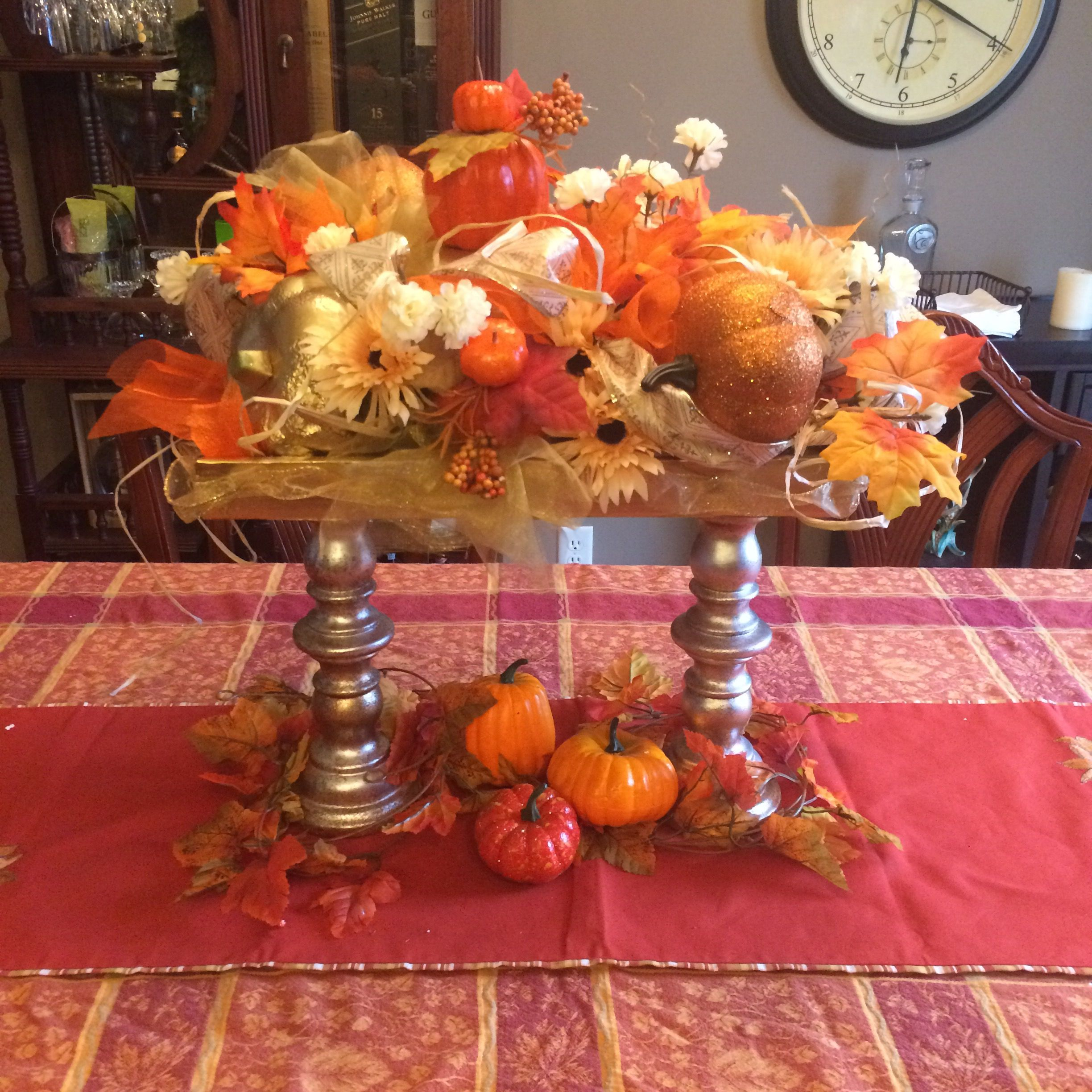 Thanksgiving Decoration Ideas For Table: The Day I Traded Hobby Lobby For Dollar Tree