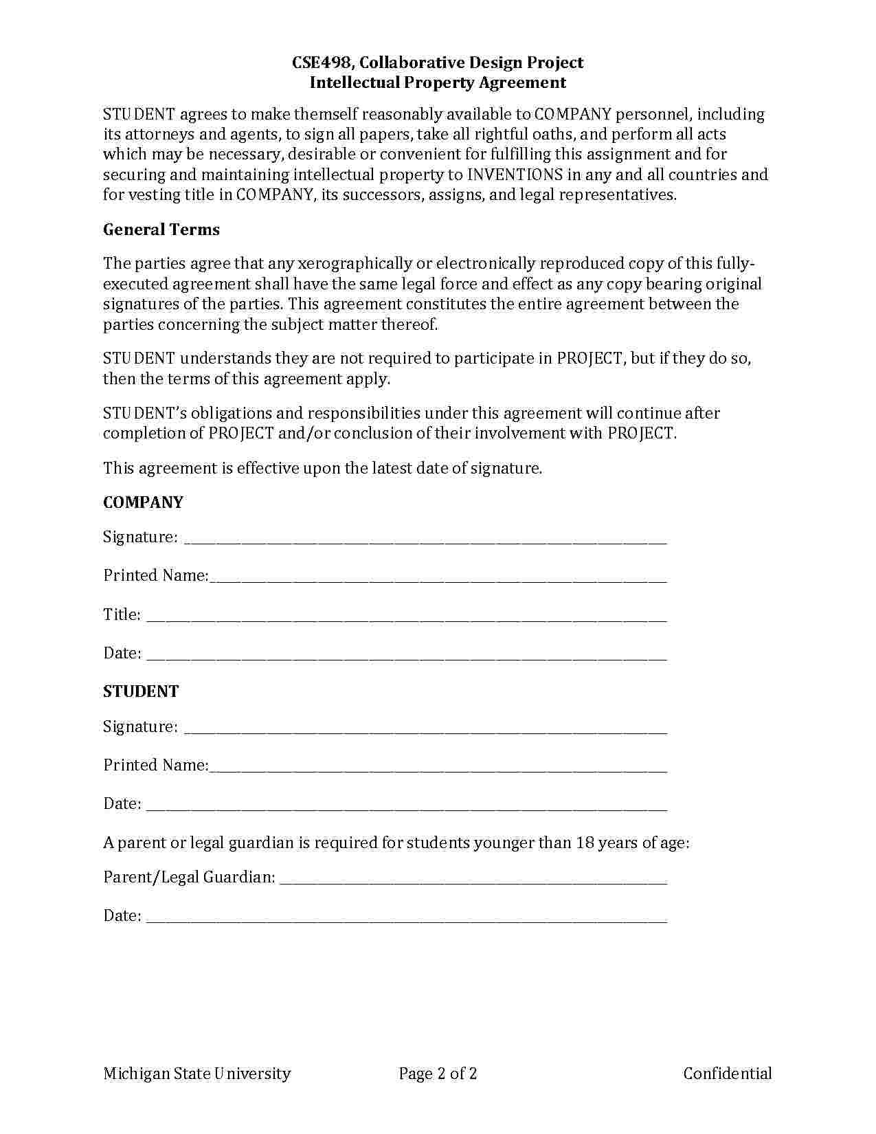 Trademark Assignment Agreement Agreement Assignments