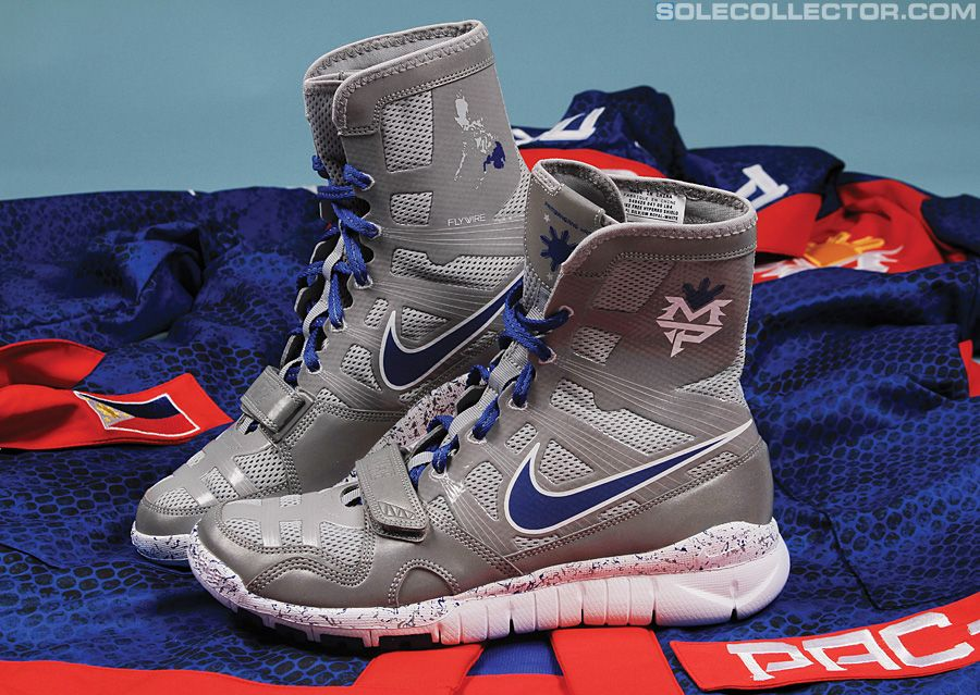 Nike Manny Pacquiao Free HyperKO Shield Trainer Boxing
