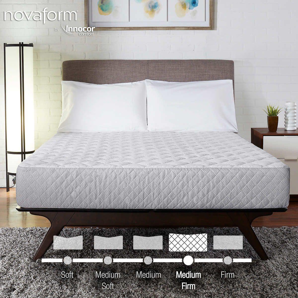 Novaform 8 Twin Gel Memory Foam Mattress Mattress Foam
