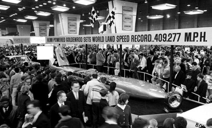 Chicago Auto Show - 1966