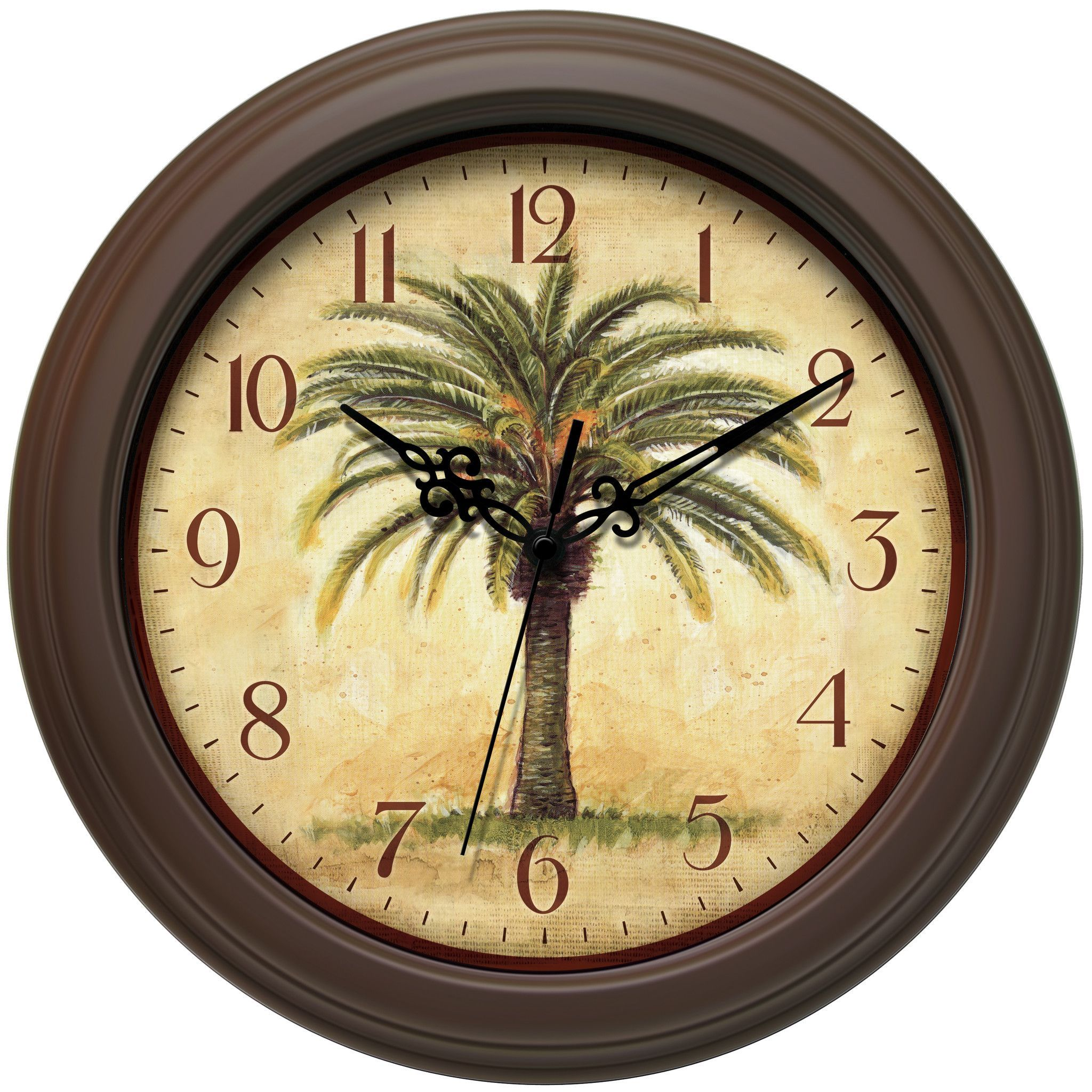 Infinity Instruments The Cabana Wall Clock 12884BR-2908 | Products ...