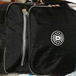 ee61ee36f27 Travistar Bolso Bandolera Niña para Mujer de Nylon Impermeable Mochilas  Estilo Deportivo Bolso Mensajero al Hombro