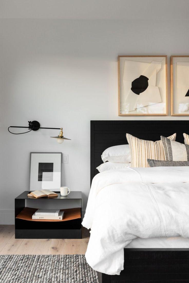 Puristisches Schlafzimmer Im Boho Style Einrichten Wohnung