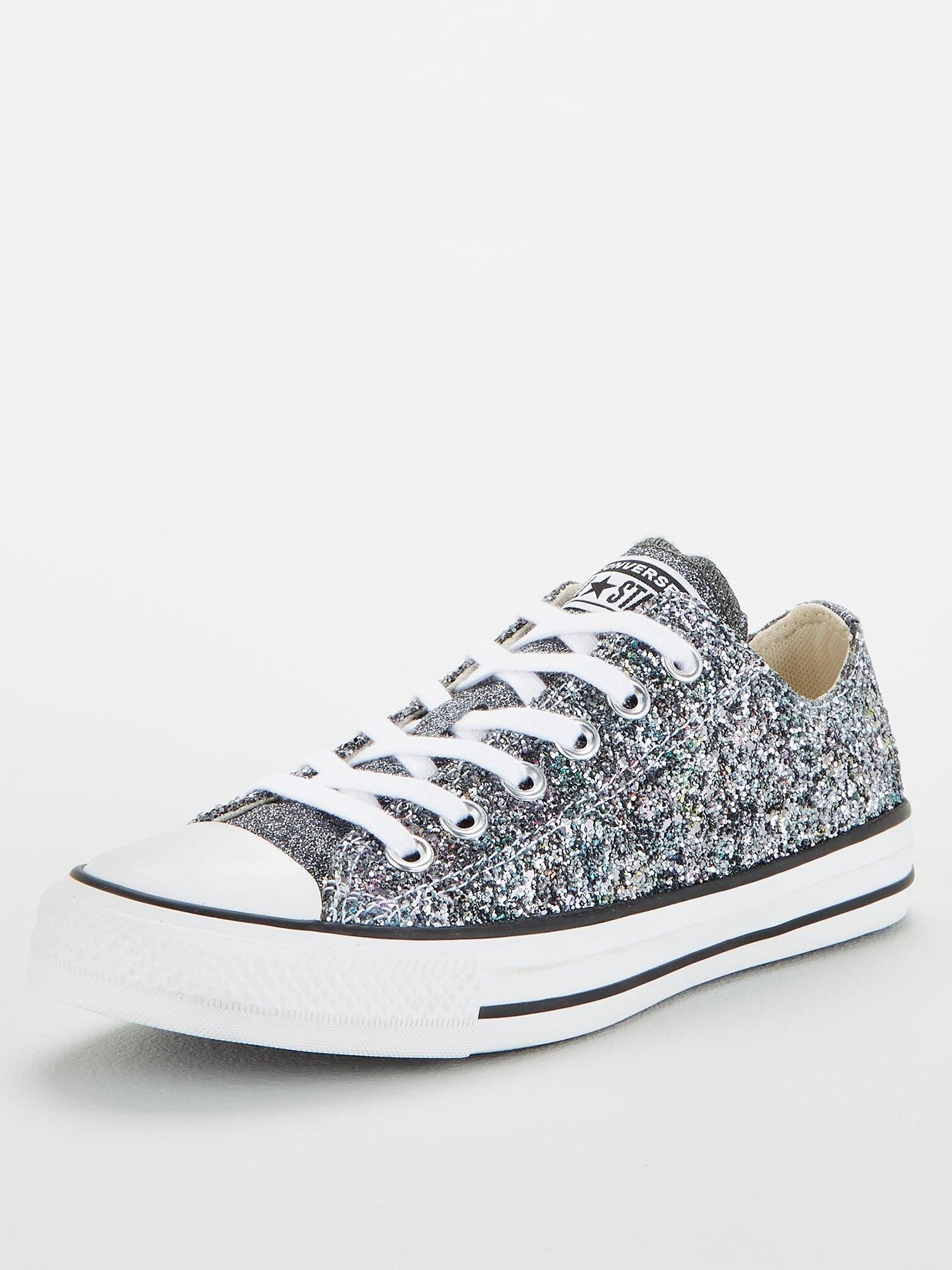 Galaxy Dust Chuck Taylor All Star Low Top SilverWhite in