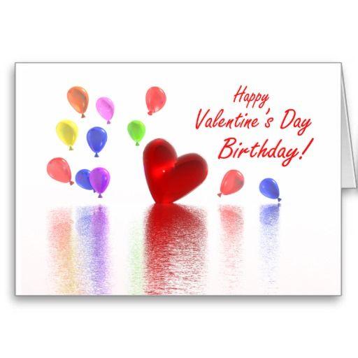 Außergewöhnlich Valentine Birthday Celebration Card