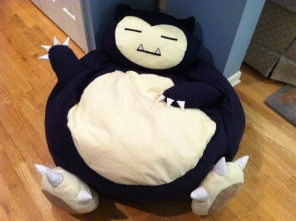 A Snorlax Beanbag Chair You Can Actually Buy