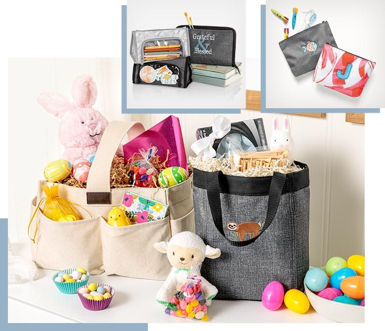 Creative Easter Basket Ideas Thirty One Gifts Affordable Purses Totes Bags In 2021 Creative Easter Baskets Easter Baskets Easter Basket Crafts