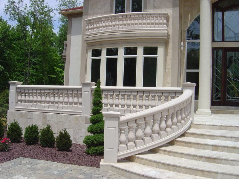 Delightful Cement Ballisters And Railing | Home Balustrades Balusters Columns  Surrounds Gallery Our Company .