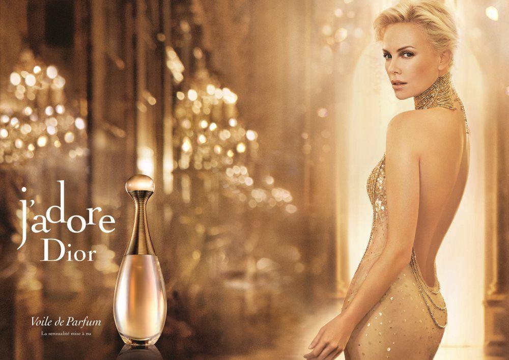 J'Adore Voile De Parfum Campaign