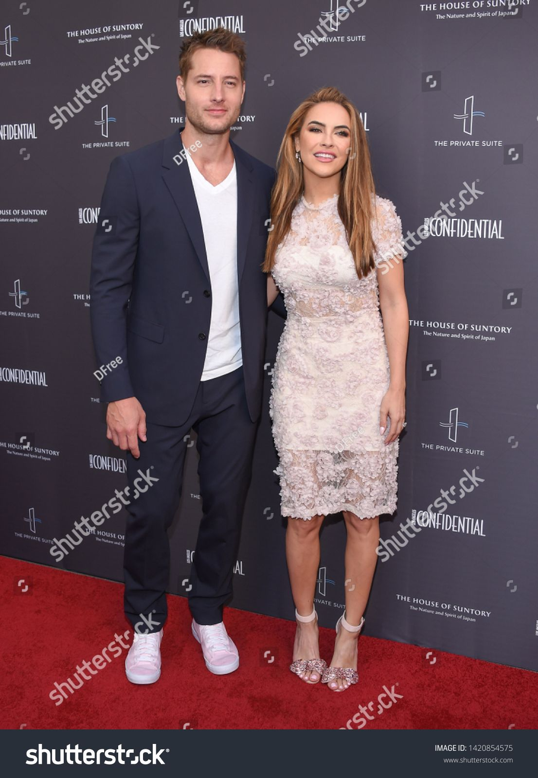 Los Angeles Jun 09 Justin Hartley And Chrishell Stause Arrives For The Below The Line Talent Fyc Event On June 09 2019 Photo Editing Photo Justin Hartley