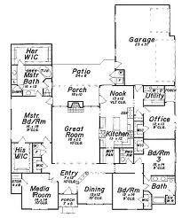 3000 Sq Ft 1 Story Ranch Style Floor Plans Google Search House Plans One Story Ranch House Plans House Plans With Pictures