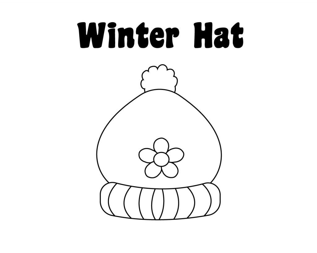 Winter Hat Coloring Pages Coloring Pages To Print Coloring Pages Free Coloring Pages